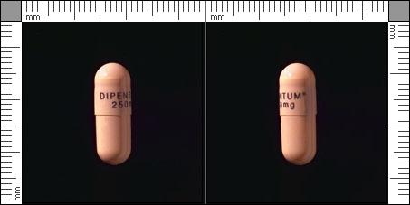 Dipentum, Kapsel, hård 250 mg , Pharmanovia