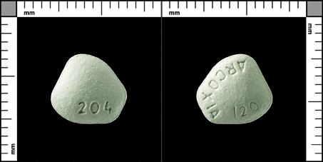 Arcoxia®, Filmdragerad tablett 120 mg , MSD