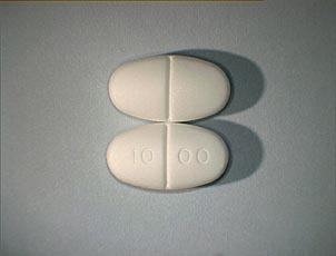Glucophage, Filmdragerad tablett 1000 mg , Merck