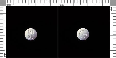 Mianserin Mylan, Filmdragerad tablett 30 mg , Mylan