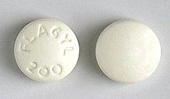 Flagyl®, Tablett 200 mg , Sanofi AB