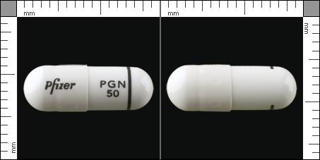 LYRICA®, Kapsel, hård 50 mg , Pfizer