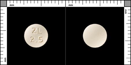 Zolmitriptan Actavis, Filmdragerad tablett 2,5 mg , GxMed Nordic