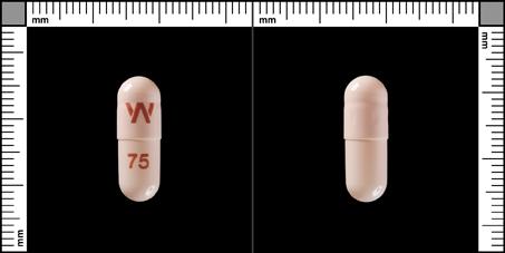 Efexor® Depot, Depotkapsel, hård 75 mg , Pfizer