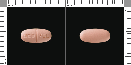 Keppra, Filmdragerad tablett 750 mg , UCB Nordic