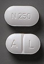 Alpoxen, Tablett 250 mg , Teva