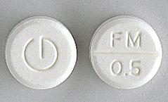 Flunitrazepam Mylan, Tablett 0,5 mg , Mylan