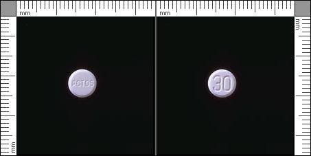 Actos, Tablett 30 mg , Takeda Pharma